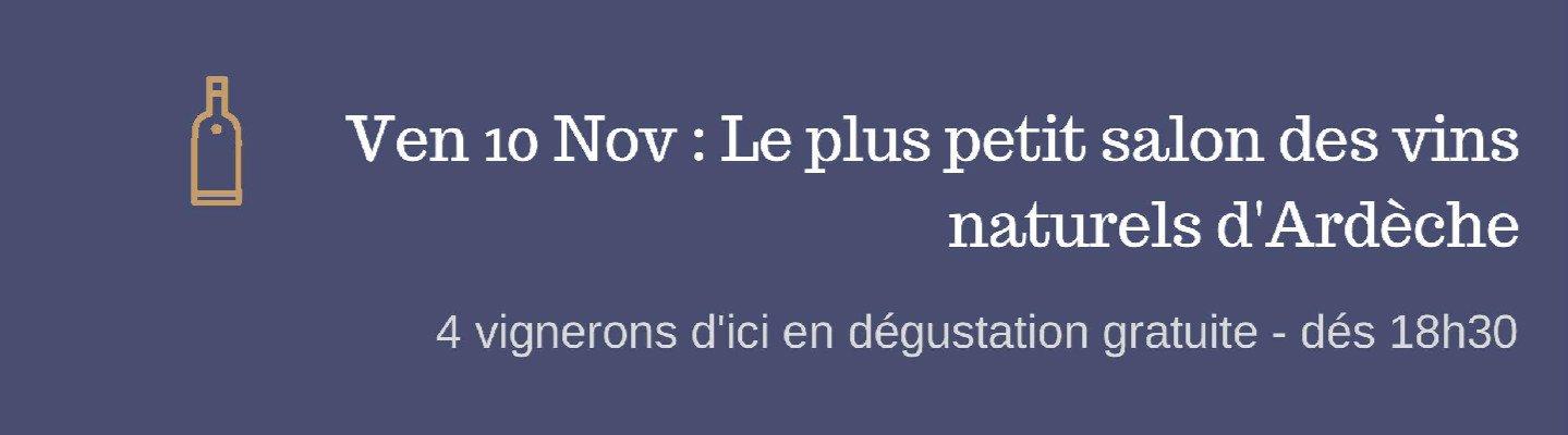 Mois du vin naturel, Carafons : 10 novembre